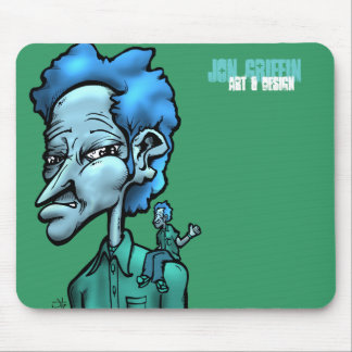 Unsure, Jon Griffin, Art & Design Mouse Pad