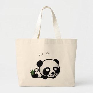 Unsuspecting Panda Tote Bag