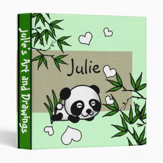 Unsuspecting Panda Binder