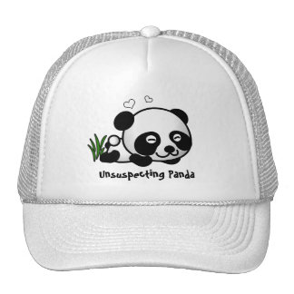 Unsuspecting Panda Mesh Hats