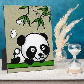 Unsuspecting Panda Plaque