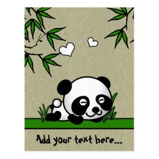Unsuspecting Panda Postcards