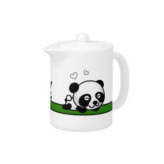 Unsuspecting Panda Teapot