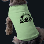 """Unsuspecting Panda Tee<br><div class=""""desc"""">An illegally cute Panda sleeping,  little hearts,  green fresh bamboo and a beautiful background will make this item the most perfect gift you could give to your loved one. Guaranteed to make everyone go &quot;Awww&quot; and to be a gift to be remembered.</div>"""