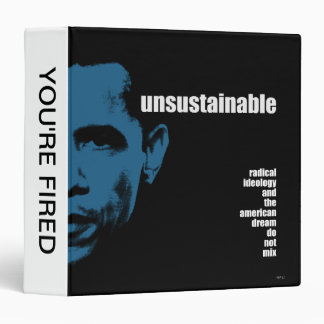 Unsustainable 3 Ring Binder