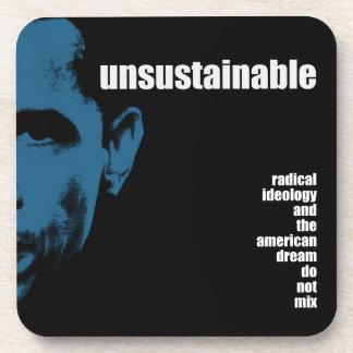 Unsustainable Beverage Coaster