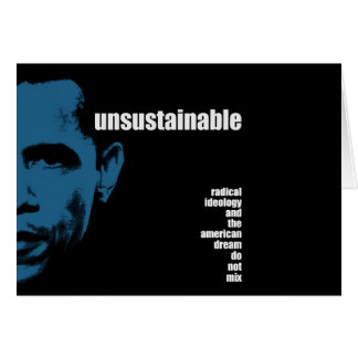 Unsustainable Card