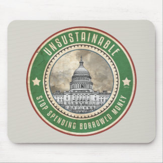 Unsustainable Mouse Pad