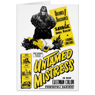 Untamed Mistress Card