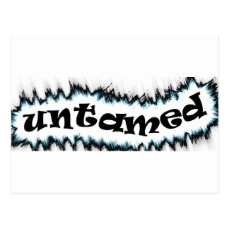 untamed postcard