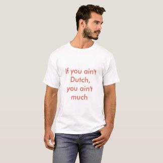 Untapped Cities Men Dutch Tee-Shirt T-Shirt