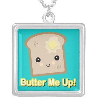 únteme con mantequilla encima de tostada colgante