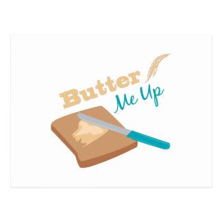 Únteme con mantequilla para arriba postal
