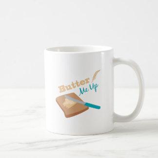 Únteme con mantequilla para arriba taza clásica
