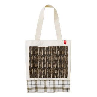 Untensils Zazzle HEART Tote Bag