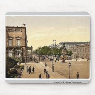 Unter den Linden, Berlin, Germany rare Photochrom Mousepad