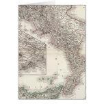 Unter Italien, beider Sicilien - Naples Region Card