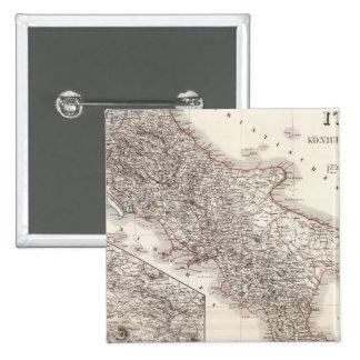 Unter Italien, beider Sicilien - región de Nápoles Pin Cuadrado