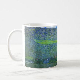 Unterach at the Attersee by Gustav Klimt Coffee Mug