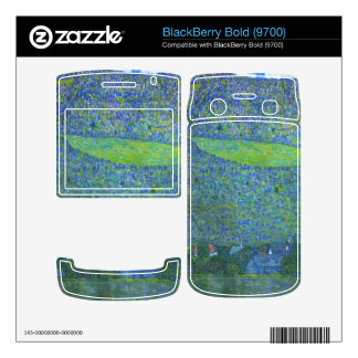 Unterach at the Attersee by Gustav Klimt Skins For BlackBerry