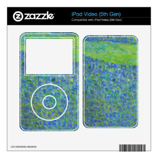 Unterach at the Attersee by Gustav Klimt iPod Video 5G Skins