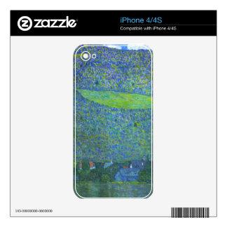 Unterach at the Attersee by Gustav Klimt iPhone 4S Skin