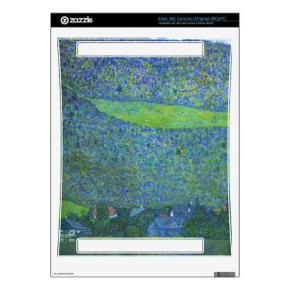 Unterach at the Attersee by Gustav Klimt Xbox 360 Console Decal