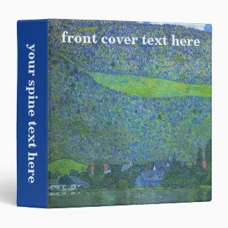 """Unterach en Attersee por Klimt, arte Nouveau del Carpeta 1 1/2"""""""