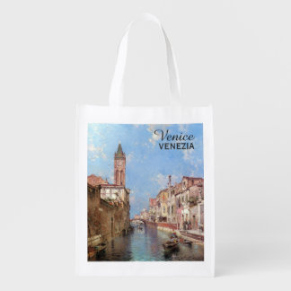 Unterberger's Venice custom reusable bag Grocery Bags