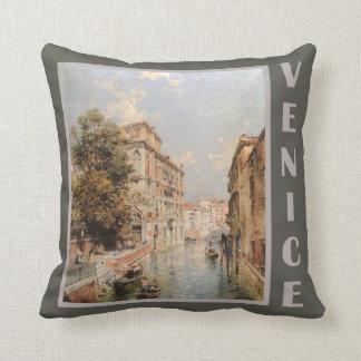 Unterberger's Venice throw pillow
