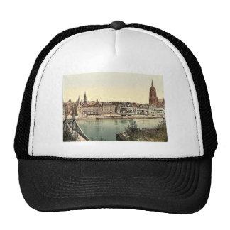 Untermainquai, Saalhof and Cathedral, Frankfort on Trucker Hat