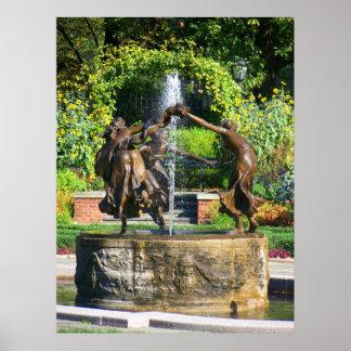 Untermeyer Fountain Poster