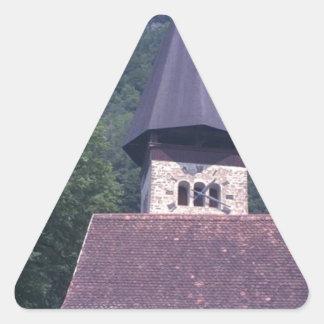Unterseen Parish Church, Interlaken Triangle Sticker