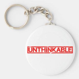 Unthinkable Stamp Keychain