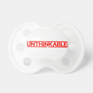 Unthinkable Stamp Pacifier