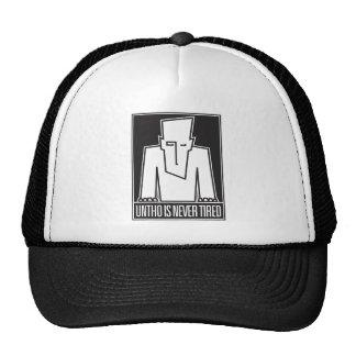 Untho is Never Tired Trucker Trucker Hat