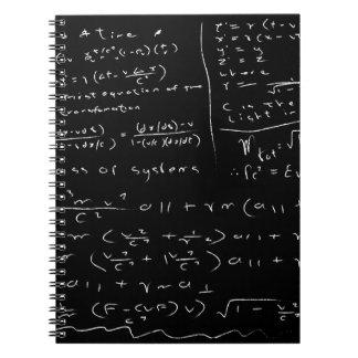 Untidy Chalk Board Notebook