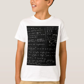 Untidy Chalk Board T-Shirt