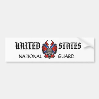 UNTIED STATES NATIONAL GUARD BUMPER STICKER