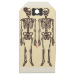 Until death do us part wooden gift tags