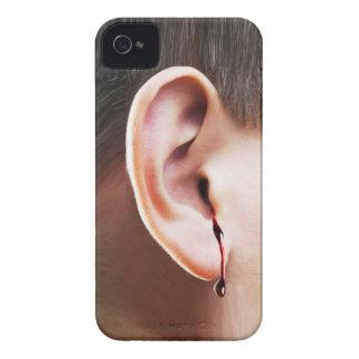 """Until Ear Bleeds"" Blackberry Case"
