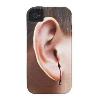 """""""Until Ear Bleeds"""" iPhone 4/4S Vibe Case iPhone 4 Covers"""
