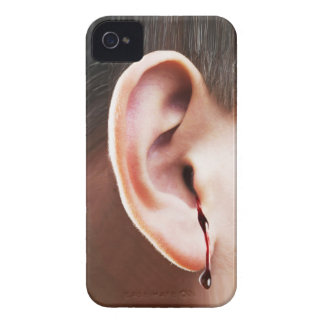 """""""Until Ear Bleeds"""" iPhone 4 Barely There Case"""