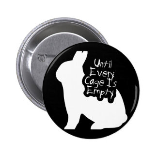 Until Every Cage is Empty (ALF) Pinback Button
