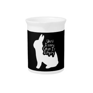 Until Every Cage is Empty (ALF) Beverage Pitcher