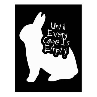 Until Every Cage is Empty (ALF) Postcard