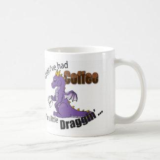 Until I've had coffee I'm a little Dragon Coffee Mug