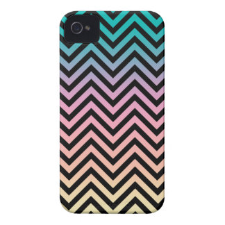 Until Sunset Chevron Black iPhone 4 Case
