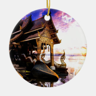 Until the End of Time Ceramic Ornament
