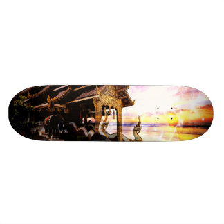 Until the End of Time Skateboard Deck